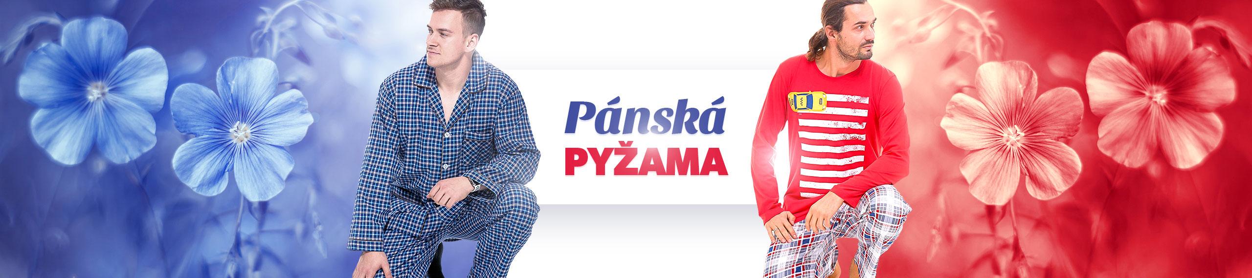 Pánská pyžama, jaro, léto, 2021